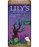 Lily's Sweets 40% Chocolate Bar Salted Almond & Milk