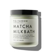 Fig + Yarrow Matcha Milkbath