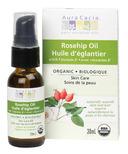 Aura Cacia Organic Rosehip Skin Care Oil Boxed