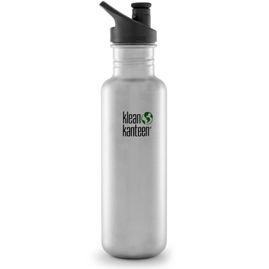 Klean Kanteen Classic Water Bottle with Sport Cap 3.0 Stainless