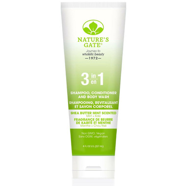 Nature\'s Gate 3 in 1 Fresh Shea Butter Mint Scent