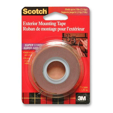 3M Scotch Exterior Mounting Tape