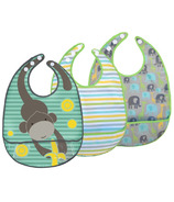 JJ Cole Bib Set Gray Safari