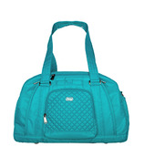 Lug Propeller Overnight / Gym Bag Aqua Teal