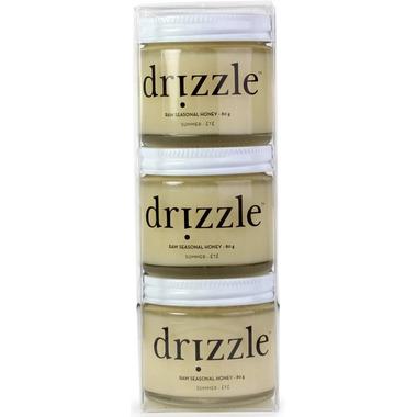 drizzle Raw Seasonal Honey Mini Trio