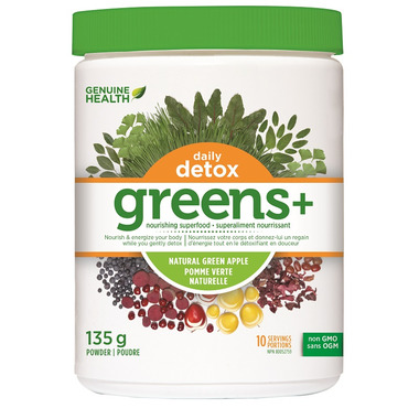 Genuine Health Greens+ Daily Detox