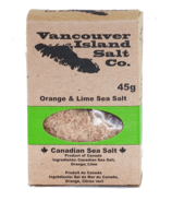 Vancouver Island Salt Co. Orange and Lime Canadian Sea Salt