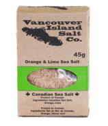 Vancouver Island Salt Co. Orange and Lime Canadian Sea Salt