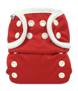 Bummis All-in-One Cloth Diaper Snap Red