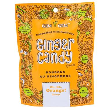 Gem Gem Orange Ginger Candy