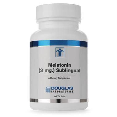 Douglas Laboratories Melatonin (3 mg.) Sublingual
