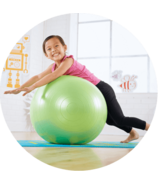 Merrithew Stability Ball for Kids Green