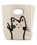 Fluf Hey Cat! Organic Lunch Bag