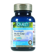 Quest Premium Multi-Cap Iron-Free Multivitamins & Minerals