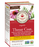 Traditional Medicinals Organic Lemon Echinacea Throat Coat Tea
