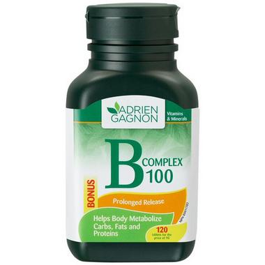 Adrien Gagnon B Complex 100 with Folic Acid