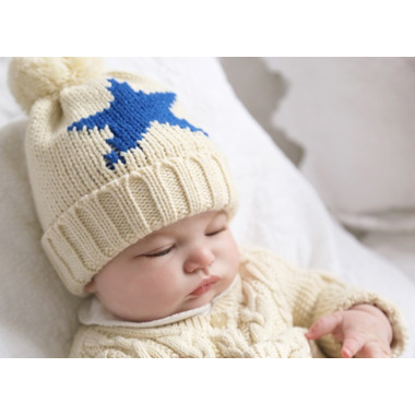 Bedford Road Knitted Hat Star