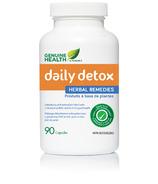 Genuine Health Daily Detox