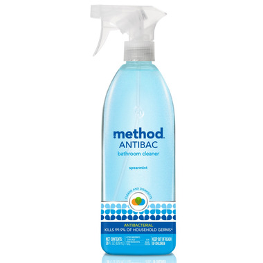 Method Antibacterial Bathroom Cleaning Spray