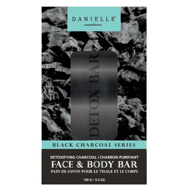 Danielle Creations Detoxifying Charcoal Face & Body Bar Soap