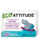 ATTITUDE Eco-Baby 100% Biodegradable Wipes Refill