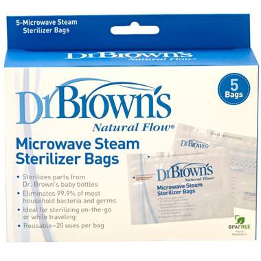 Dr. Brown\'s Microwave Steam Sterilizer Bags