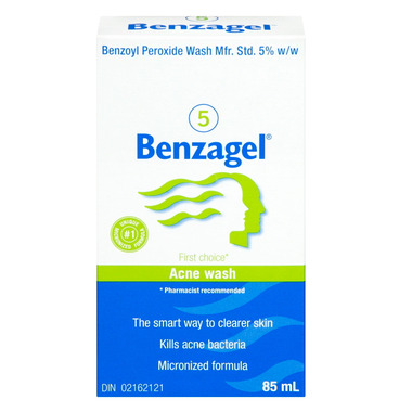 Benzagel 5 Acne Wash