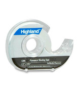 3M Highland Invisible Tape With Dispenser
