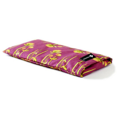 Halfmoon Cotton Eye Pillow Crimson