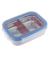 Innobaby Keepin' Fresh Kids Stainless Divided Bento Blue