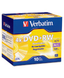 Verbatim DataLife Plus Branded DVD+RW Discs