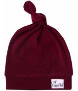 Copper Pearl Ruby Newborn Top Knot Hat
