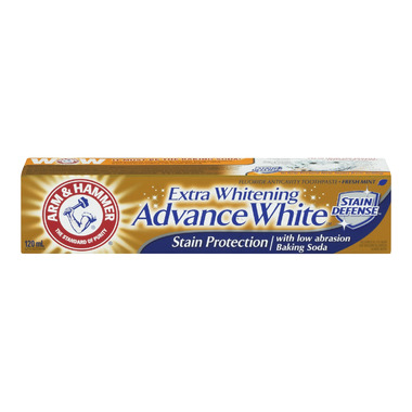 Arm & Hammer Extra Whitening Advance White Stain Defense Paste