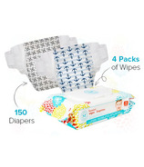 The Honest Company Honest Size 5 Diapers & Wipes Bundle