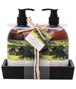 Brompton & Langley Exotic Retreats Tuscany Caddy Set Hand Wash & Lotion