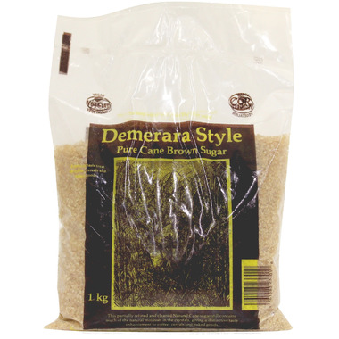 Donmar Demerara Style Pure Cane Brown Sugar