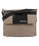 Buffalo David Bitton Frank Messenger in Tan & Black