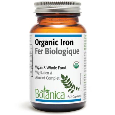 Botanica Organic Iron Capsules