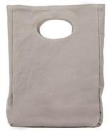 Fluf Solid Grey Organic Lunch Bag