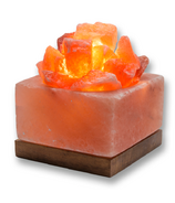 Heartfelt Living Square Bowl Salt Lamp
