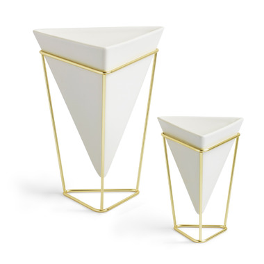 Buy umbra trigg desk set vessel brass at free shipping 35 in canada - Vase design pas cher ...