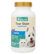 Naturvet Tear Stain Supplement Tablets Plus Lutein