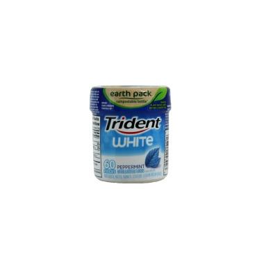 Trident White Peppermint Sugar-Free Gum Bottle