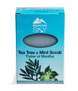 Mountain Sky Tea Tree & Mint Scrub Bar Soap