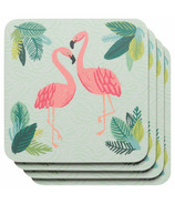 Now Design Coaster Set Flamingos