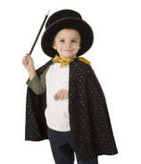 Melissa & Doug Magic in a Snap Pop-Up Magical Hat with Wand & Tricks