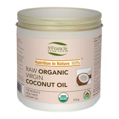 St. Francis Herb Farm Organic Extra Virgin Organic Coconut Oil