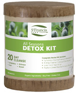 St. Francis Herb Farm All Seasons Detox Kit