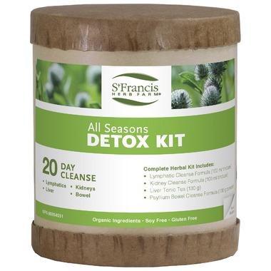 St. Francis Herb Farm All Seasons Detox Kit
