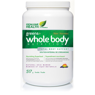 Greens whole body nutrition
